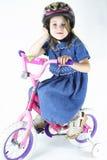 骑自行车我我 免版税库存照片