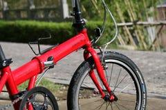 骑自行车折叠 免版税库存照片