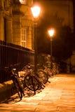骑自行车牛津 库存照片