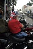 骑自行车的人爱国者 免版税库存图片