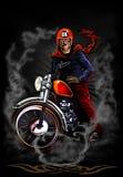 骑自行车的人apparel3 库存照片