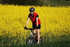 骑自行车的#4 库存照片