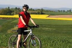 骑自行车的#5 免版税库存图片