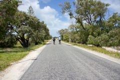 骑自行车的Rottnest 免版税库存照片