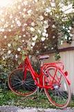 骑自行车红色 图库摄影