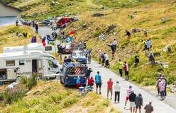 骑自行车者亚历山大Geniez -游览de法国2015年 库存图片