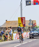 骑自行车者何塞约阿奎恩罗哈斯Gil 库存照片