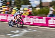 骑自行车者安德烈Greipel 图库摄影
