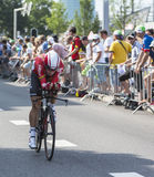 骑自行车者格里汉德尔逊-环法自行车赛2015年 免版税图库摄影
