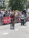 骑自行车者格雷戈范Avermaet -环法自行车赛2015年 库存照片