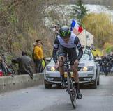 骑自行车者泰勒Farrar -巴黎好2016年 免版税库存照片