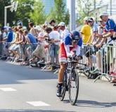 骑自行车者热罗姆科佩尔-环法自行车赛2015年 免版税库存照片