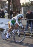 骑自行车者西蒙Julien-巴黎尼斯2013年序幕 库存图片