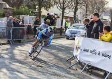 骑自行车者马休斯迈克尔巴黎尼斯2013年Prol 免版税库存图片