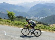骑自行车者马克・卡文迪什-环法自行车赛2015年 图库摄影