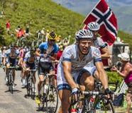 骑自行车者马塞尔Kittel 免版税库存图片