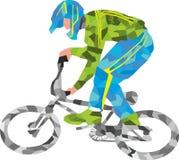 骑自行车者,体育 库存图片
