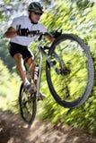 骑自行车者 免版税库存图片