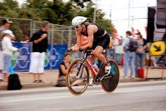 骑自行车者 免版税图库摄影
