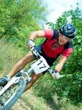 骑自行车者 图库摄影