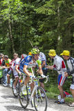 骑自行车者Kristijan Koren 免版税库存图片