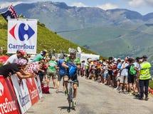 骑自行车者Lars Petter Nordhaug 免版税库存照片
