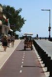 骑自行车路径 库存图片