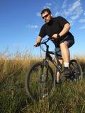 骑自行车 库存图片