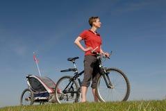 骑自行车 免版税图库摄影
