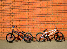 骑自行车bmx 免版税库存照片