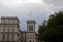 骑马卫兵游行宫殿,伦敦,英国,英国 免版税库存图片