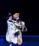 """骑马在疾驰这紫色簪子--江西linchuan† opera""""four梦想  库存照片"""