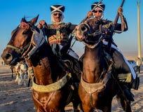 骑马展示的图片 免版税库存图片