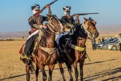 骑马展示的图片 免版税库存照片