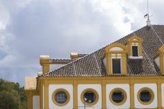 骑马艺术皇家安达卢西亚的学校  免版税库存照片