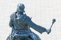骑马1月Zizka捷克国家历史文物 库存图片