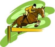骑马 免版税库存图片