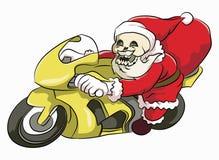 骨头头圣诞老人 免版税库存图片