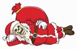 骨头头圣诞老人claaus 免版税库存图片