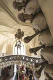 骨头教会在Kutna Hora,捷克 免版税库存图片