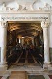骨头教堂,埃武拉,葡萄牙 免版税库存图片