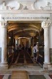 骨头教堂,埃武拉,葡萄牙 库存图片