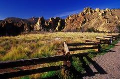 高下午的沙漠 免版税库存照片
