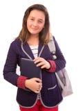 高中女孩 免版税库存图片
