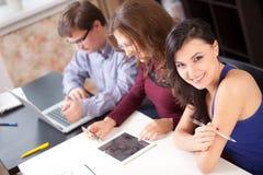 高中学生 免版税库存照片