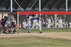 高中棒球 图库摄影
