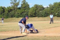 高中棒球 免版税图库摄影