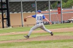 高中棒球 免版税库存图片