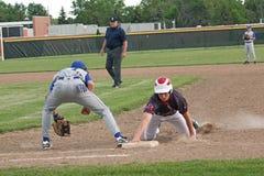 高中棒球 免版税库存照片