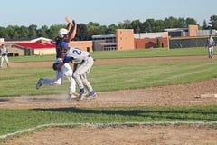 高中棒球 库存照片